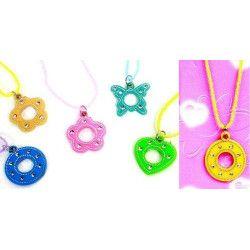 Jouets et kermesse, Lot 48 colliers avec pendentif, 32961-LOT, 0,19€