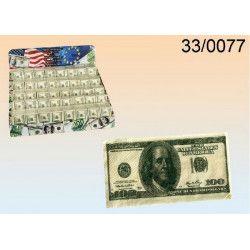 Mouchoirs papier billet de 100 dollars 3 couches x 10 Divers 330077