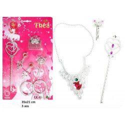 Jouets et kermesse, Sceptre et bijoux 7 pces enfant kermesse, 33197, 1,00€
