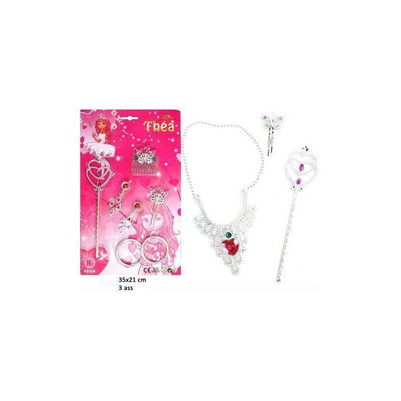 Sceptre et bijoux avec accessoires enfant Jouets et articles kermesse 33197