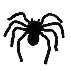 Mygale noire 46 cm halloween Déco festive 333015