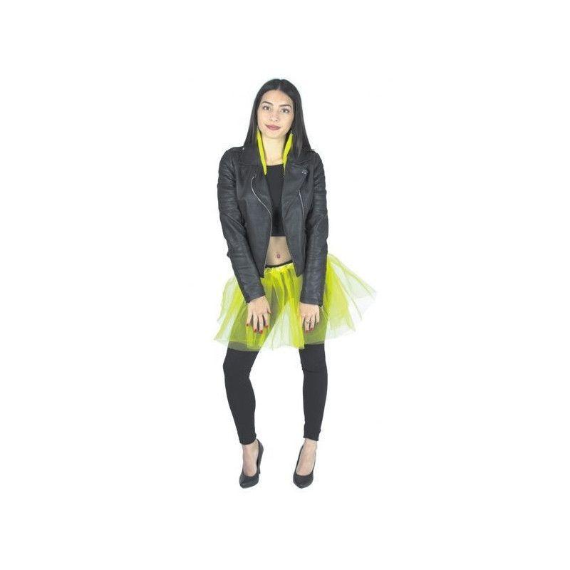 Accessoires de fête, Tutu jaune fluo 35 cm, 333023, 4,90€