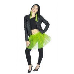 Tutu vert fluo 35 cm Accessoires de fête 333025