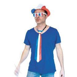 Cravate supporter France Accessoires de fête 333120