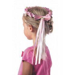 Couronne de fleurs avec ruban enfant Accessoires de fête 333196
