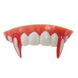 Dentier vampire ensanglanté Accessoires de fête 33324