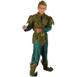 Déguisements, Déguisement garçon Peter Pan 9-11 ans, 33810, 32,50€