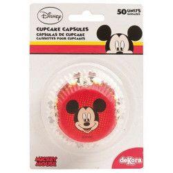 Caissettes à cupcakes Mickey™ x 50 Déco festive 339004