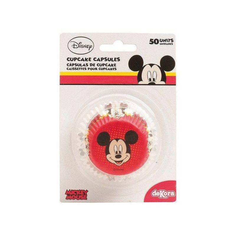 Caissettes à cupcakes Mickey™ x 50 Cake Design 339004