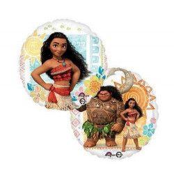 Ballon alu Vaiana™ 43 cm Déco festive 3395363
