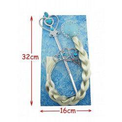 Jouets et kermesse, Set accessoires princesse bleus, 34038, 2,90€
