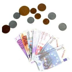 Jeu de monnaie en euros x1 Jouets et articles kermesse 34088