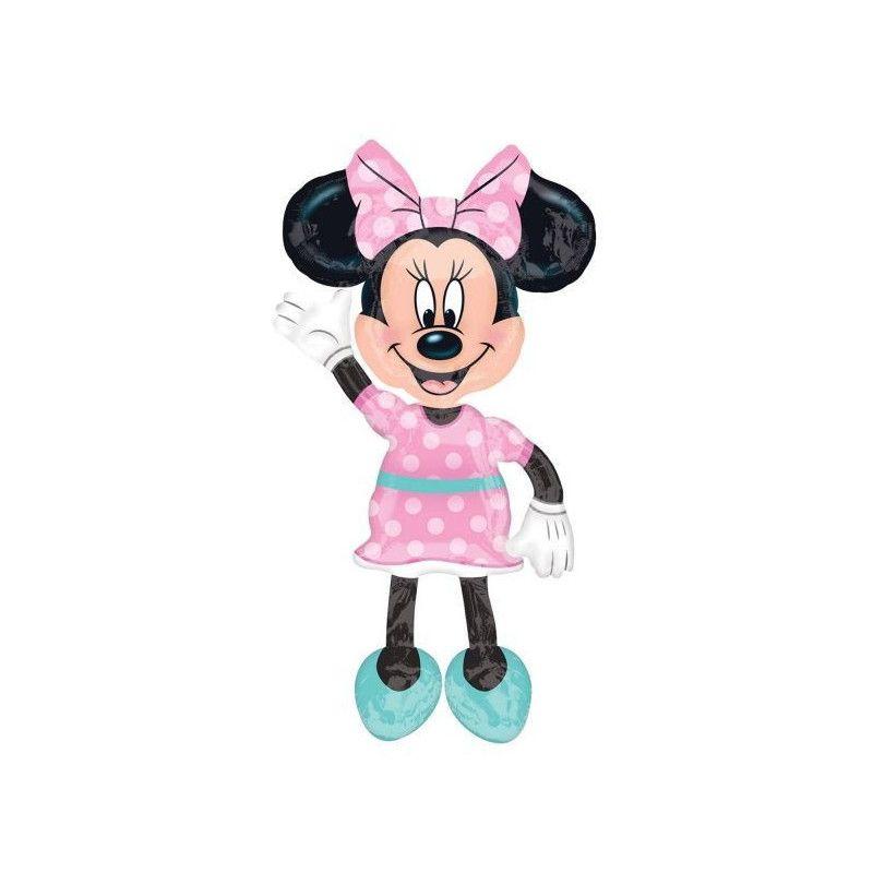 c1417fde5c3a3 Ballon aluminium marcheur rose Minnie Mouse™
