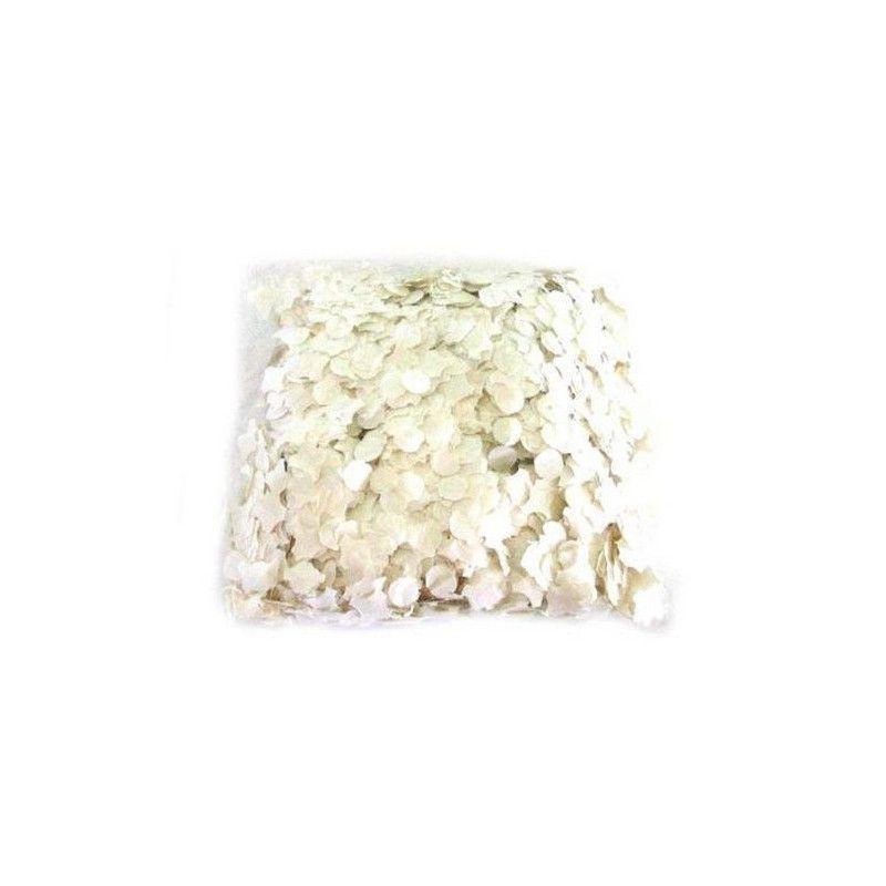Déco festive, Maxi confettis blancs, 34378, 1,90€
