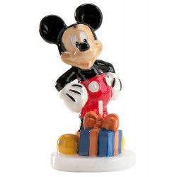 Bougie anniversaire Mickey™ Déco festive 346027