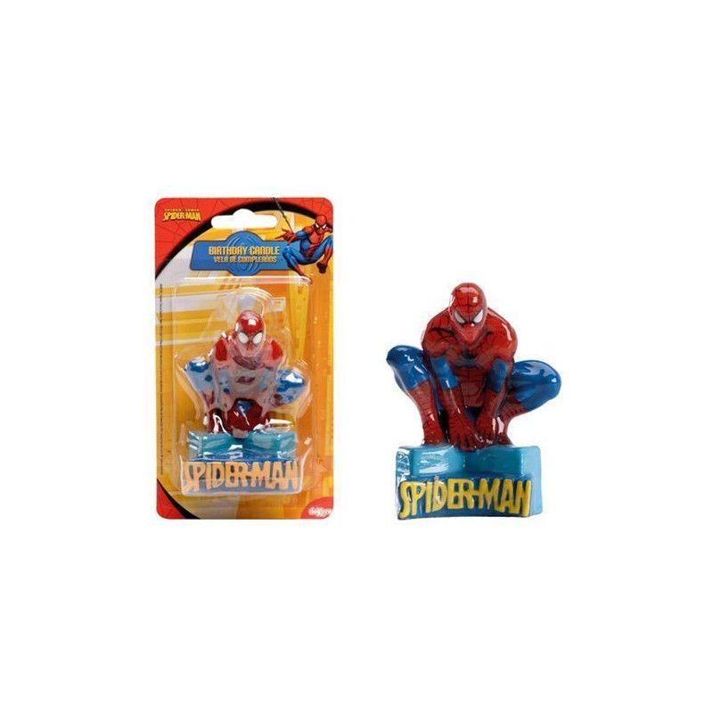 Déco festive, Bougie anniversaire Spiderman™, 346050, 3,90€