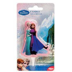 Bougie anniversaire Frozen™ Déco festive 346128