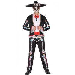 Déguisement squelette mexicain homme taille XL Déguisements 34731