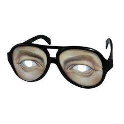 Lunettes en plastique yeux homme Accessoires de fête 35263