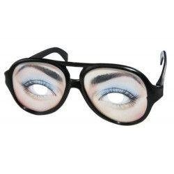 Lunettes en plastique yeux femme Accessoires de fête 35264