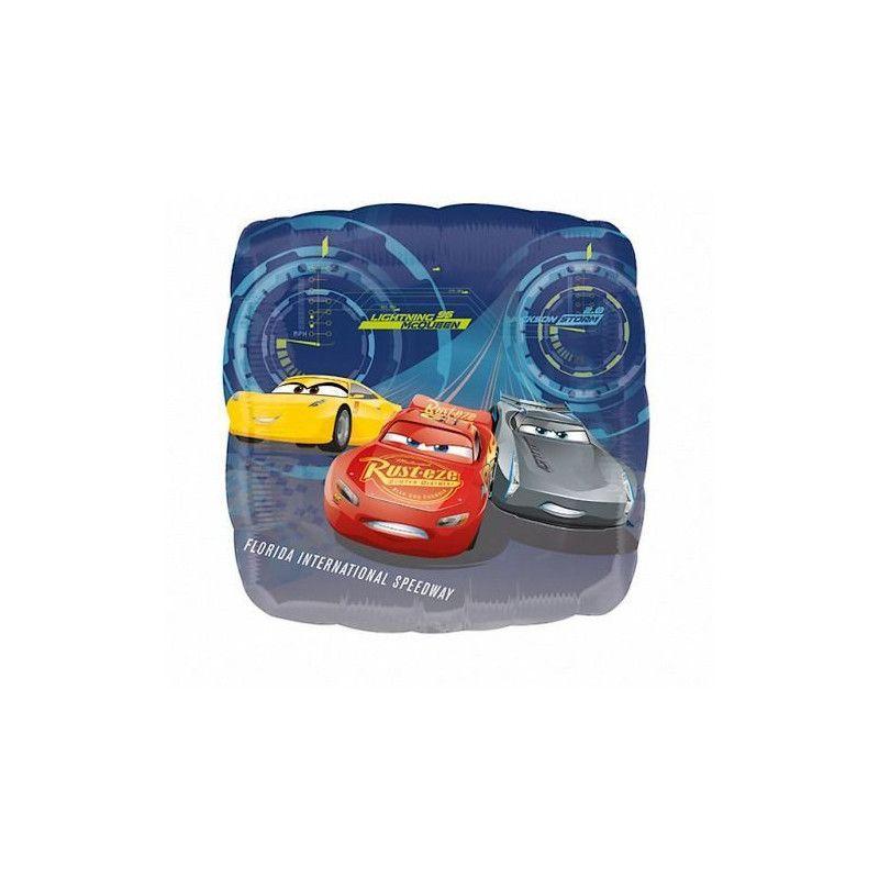 Ballon alu Cars 3™ 86 cm Déco festive 3536401