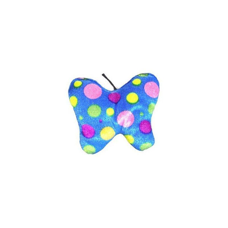 Peluche papillon à pois 12 cm Jouets et articles kermesse 3547