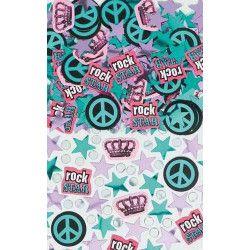 Déco festive, Confettis Rock Star, 360161, 2,49€