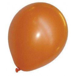 Ballons pastel orange x 50 Déco festive 36201