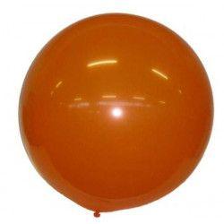 Ballon géant orange Déco festive 36350OR