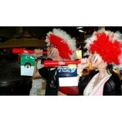 Trompette avec drapeau Algerie Déco festive 36551A