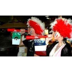 Déco festive, Trompette avec drapeau France, 36551F, 1,00€