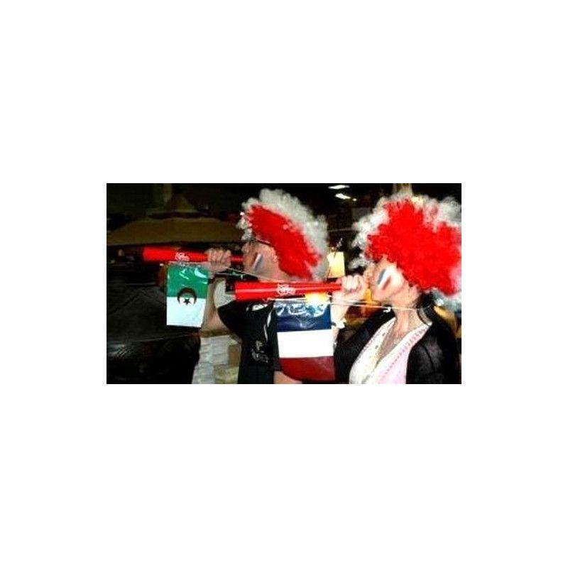 Trompette avec drapeau France Déco festive 36551F