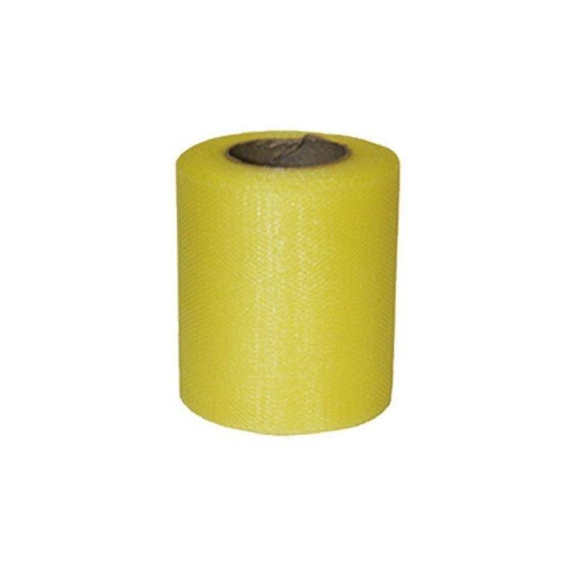 Rouleau de tulle jaune 20 m Déco festive 36600JAZ