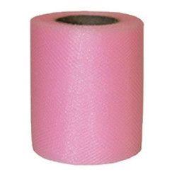 Rouleau de tulle rose 20 m Déco festive 36600ROZ