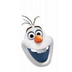 Masque carton Frozen Olaf Accessoires de fête 36646