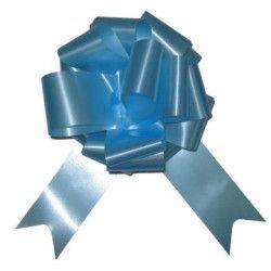 Sachet 4 noeuds à tirer 5 cm bleu ciel Déco festive 36700CIZ