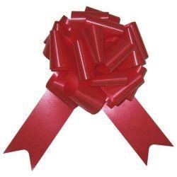 Sachet 4 noeuds à tirer 5 cm rouge Déco festive 36700RGZ
