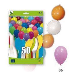 Ballons guirlandes roses opaques x 50 Déco festive 36GP5-06