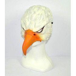 Masque aigle en latex adulte Accessoires de fête 371424