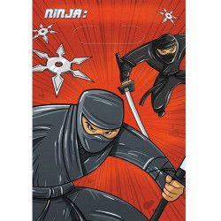 Sachets anniversaire Ninja x 8 Déco festive 371587