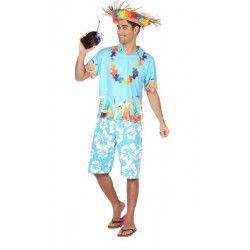Déguisements, Déguisement hawaïen homme taille XL, 38610, 25,90€