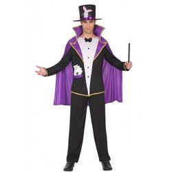 Déguisements, Déguisement magicien homme taille S, 38659, 32,50€