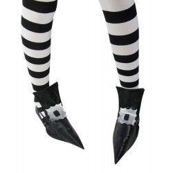 Sur-chaussures de sorcière adulte halloween Accessoires de fête 39142