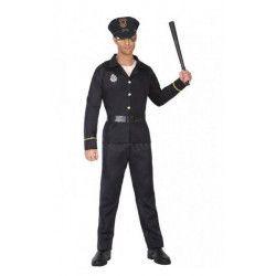 Déguisement policier homme taille XS-S Déguisements 39516