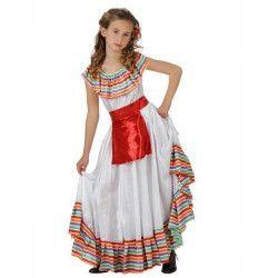 Déguisements, Déguisement Mexicaine fille 3-4 ans, 39955, 14,90€