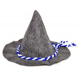 Chapeau bavarois gris Accessoires de fête 4007