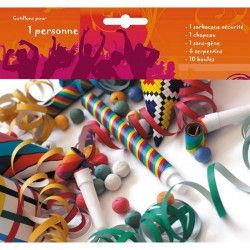 Déco festive, Kit cotillons 1 personne, 40130537, 1,40€