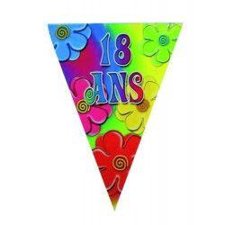 Guirlande joyeux anniversaire 18 ans Déco festive 40133804
