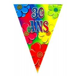 Guirlande anniversaire 30 ans Déco festive 40133806