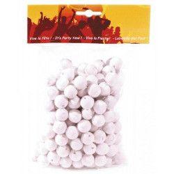 Boules dancing blanches x 200 Déco festive 40171503